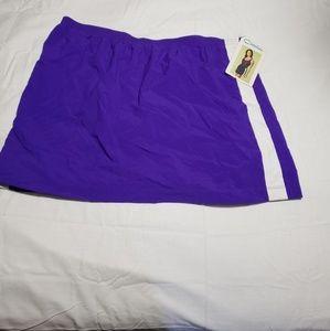 Swim cover up skirt